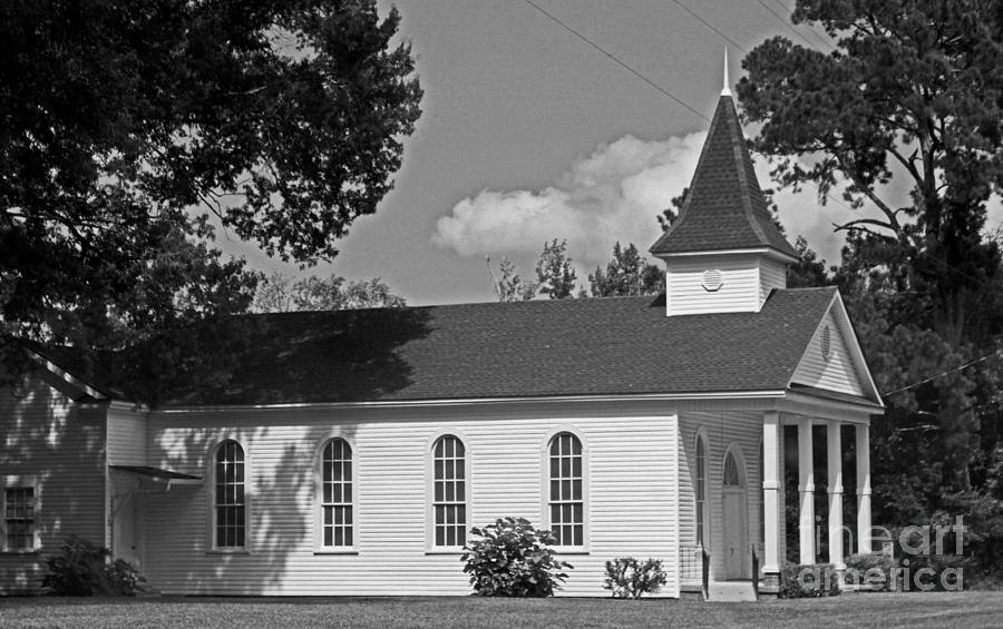 Church Photograph - Alabama Church by Kimberly Saulsberry