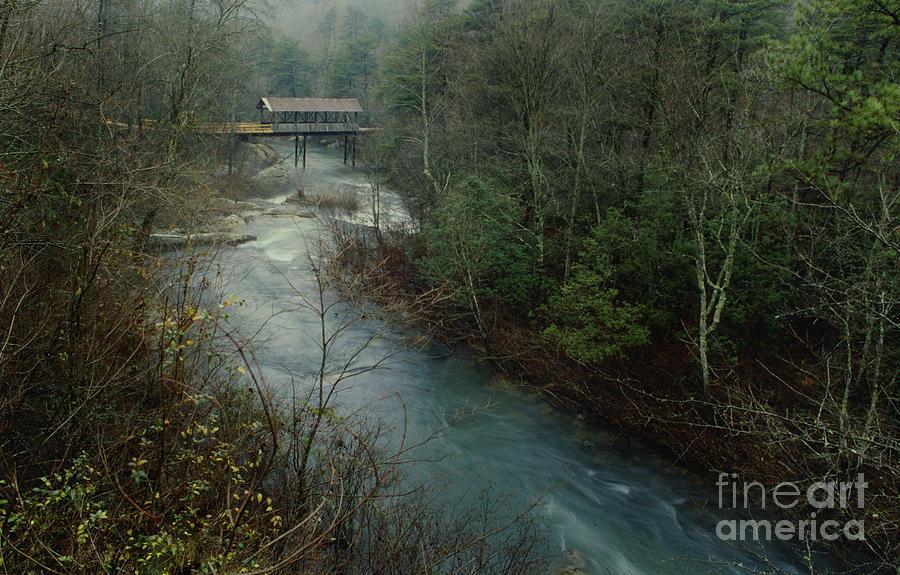 Alabama Covered Bridge Photograph