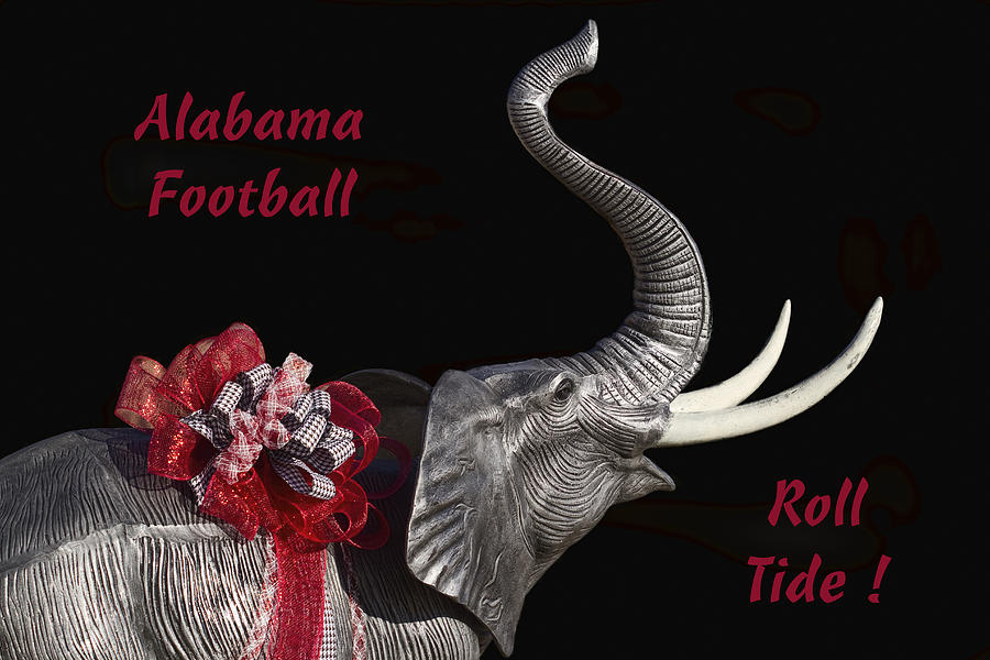 Alabama Photograph - Alabama Football Roll Tide by Kathy Clark