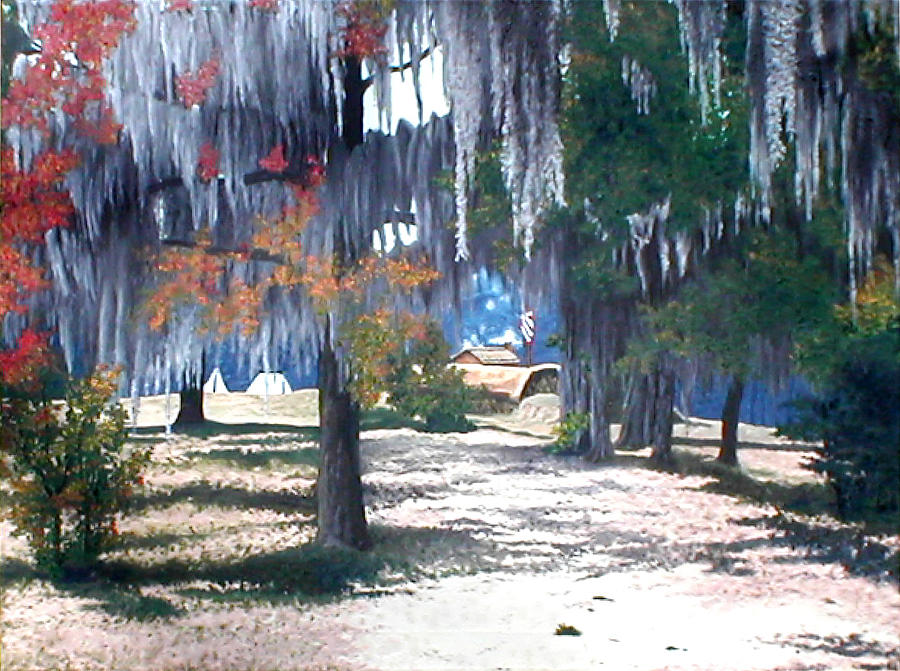 Wetumpka Painting - Alabama Fort Jackson by Beth Parrish
