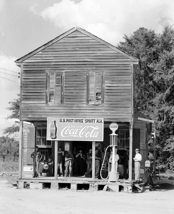 1935 Photograph - Alabama Post Office by Granger