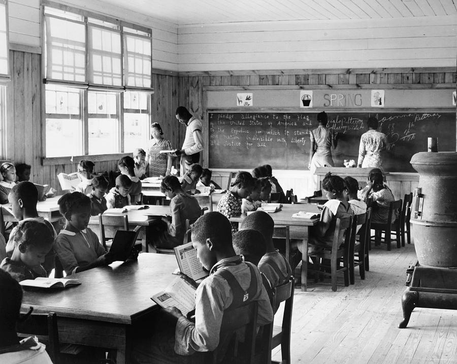 1939 Photograph - Alabama Schoolhouse, 1939 by Granger