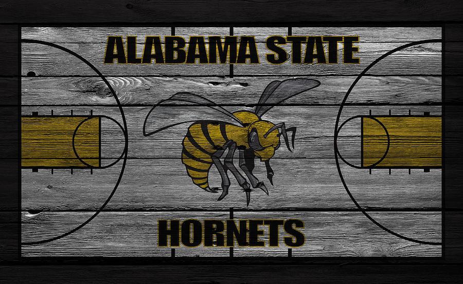Hornets Photograph - Alabama State Hornets by Joe Hamilton