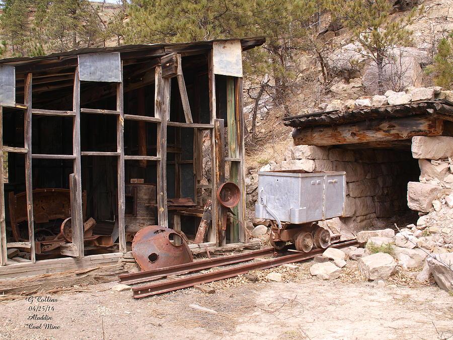 Coal Mine Photograph - Aladdin Coal Mine by Gordon Collins