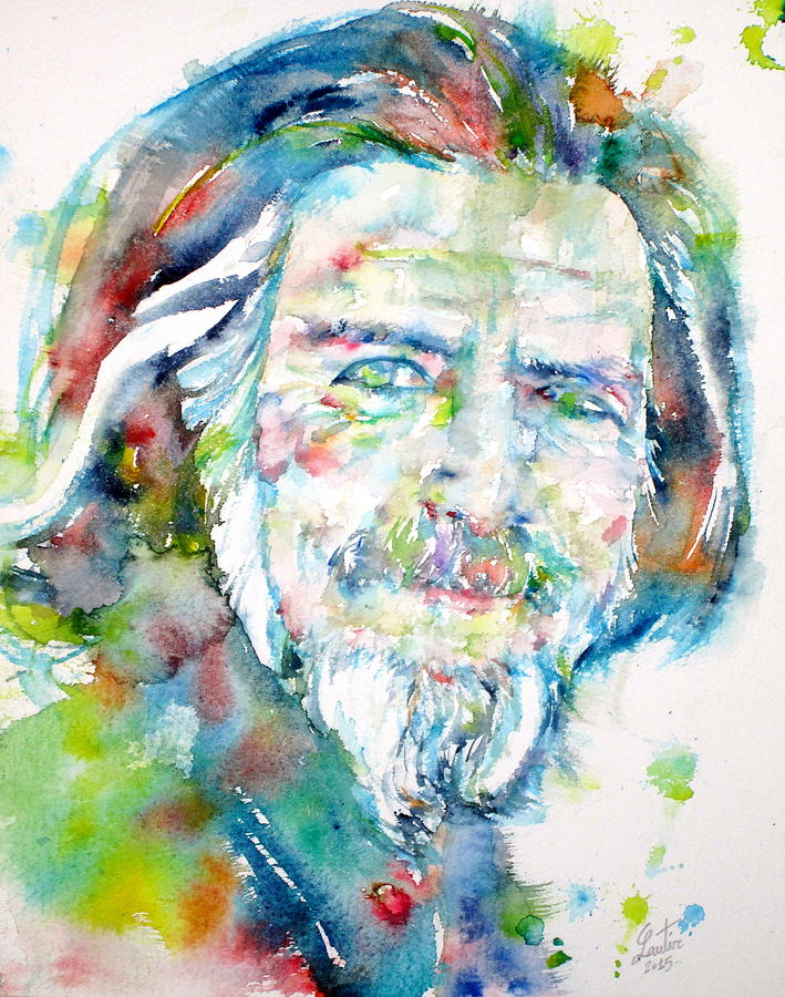 Alan Watts Painting Fine Art America