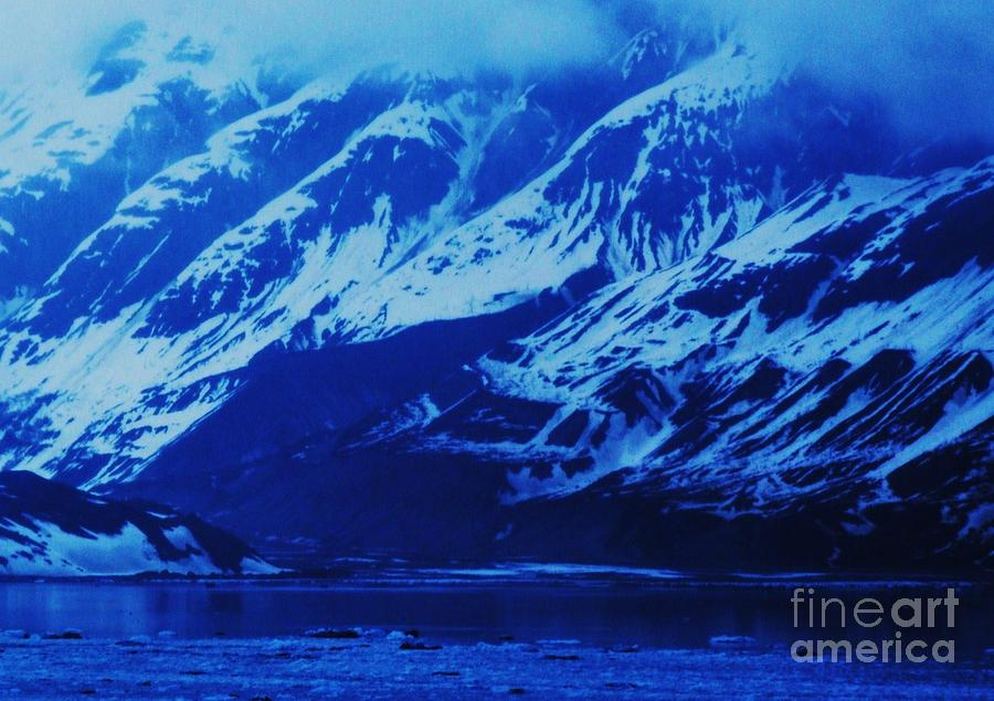 Alaska Blue Photograph by Marcus Dagan