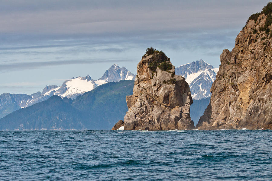 Alaska Coastline Landscape Photograph by Richard Jack-James