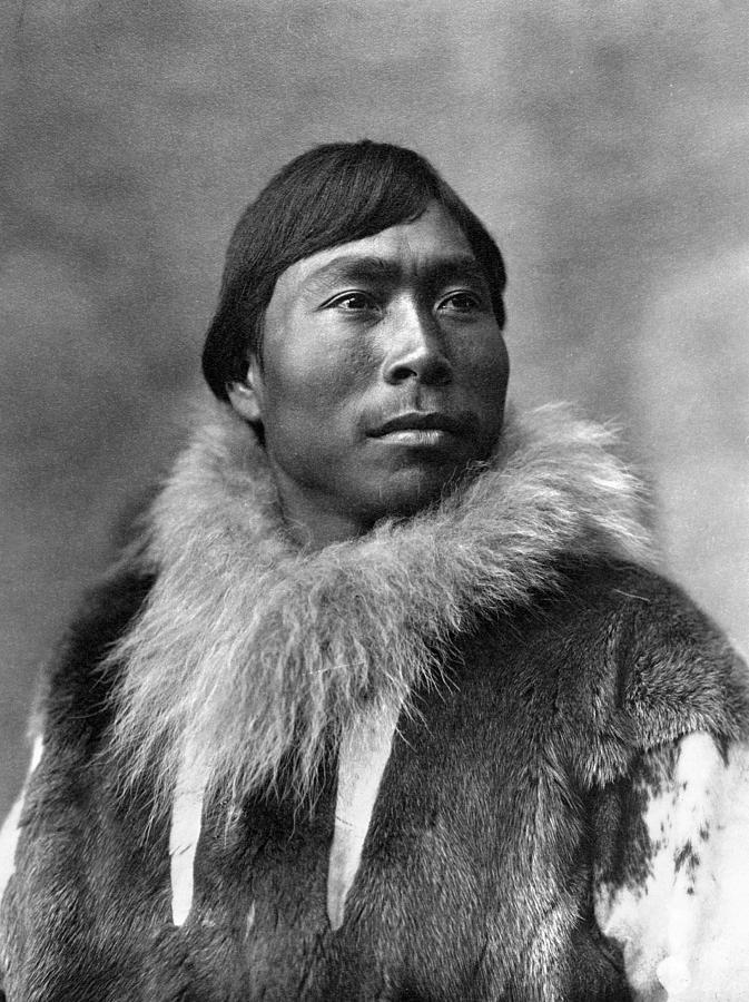 f059512b289 1903 Photograph - Alaska Eskimo Man
