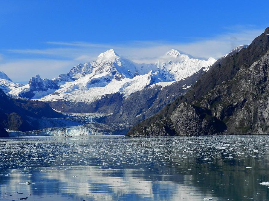 Mountain Photograph - Alaska Mountain by Don L Williams
