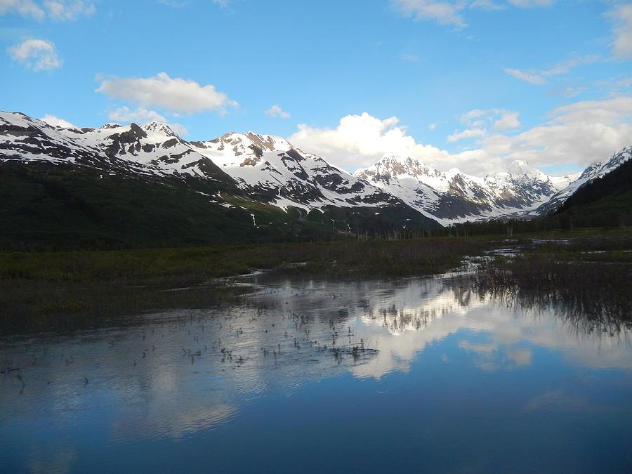 Alaska Mountain Scene Photograph
