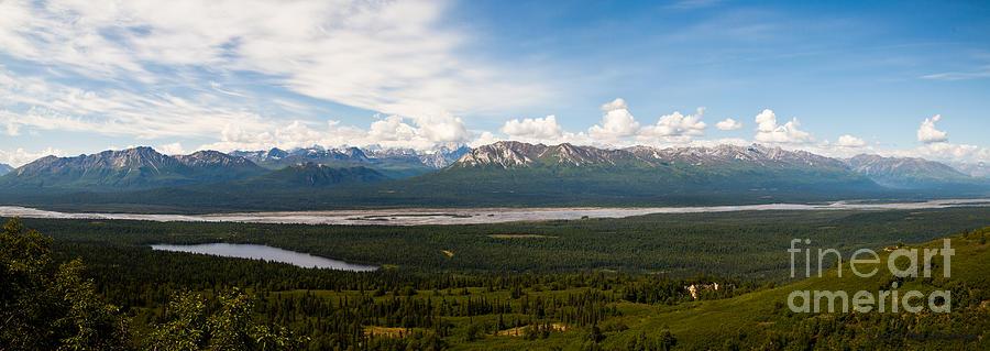 Alaska Photograph - Alaska Range by Chris Heitstuman