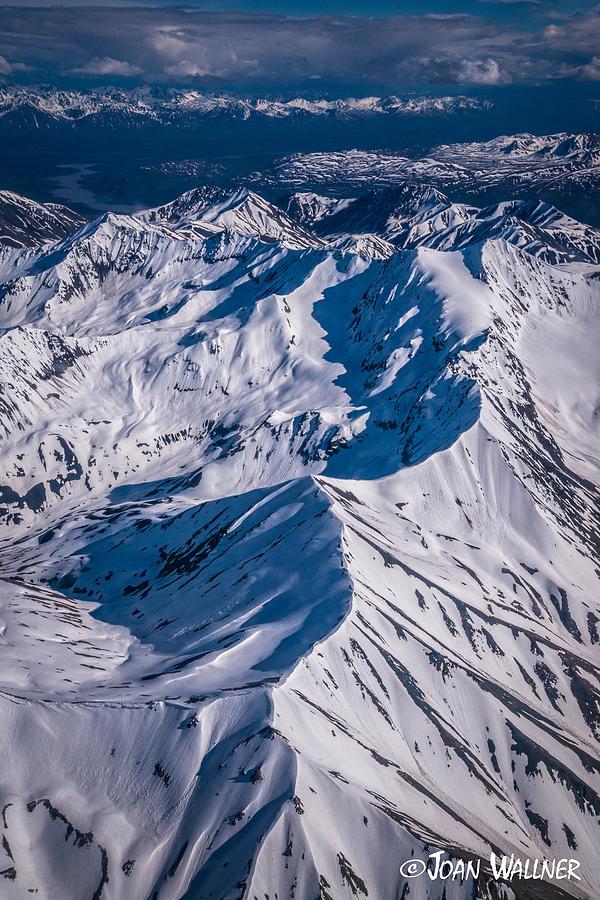 Alaska Photograph - Alaska Range Snowscape by Joan Wallner