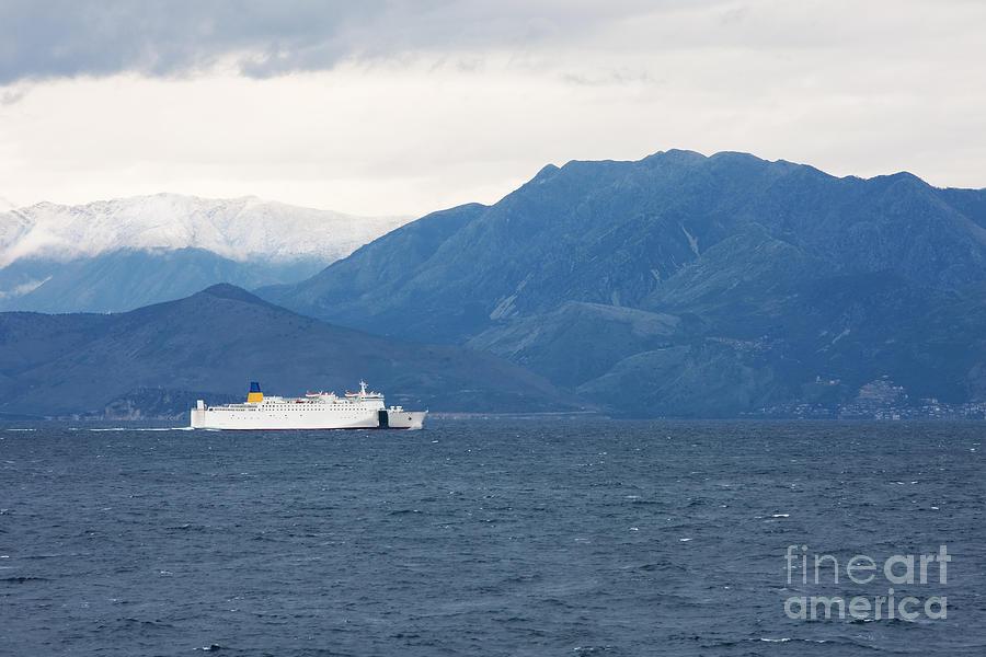 Adriatic Sea Photograph - Albanian Coast by Gabriela Insuratelu
