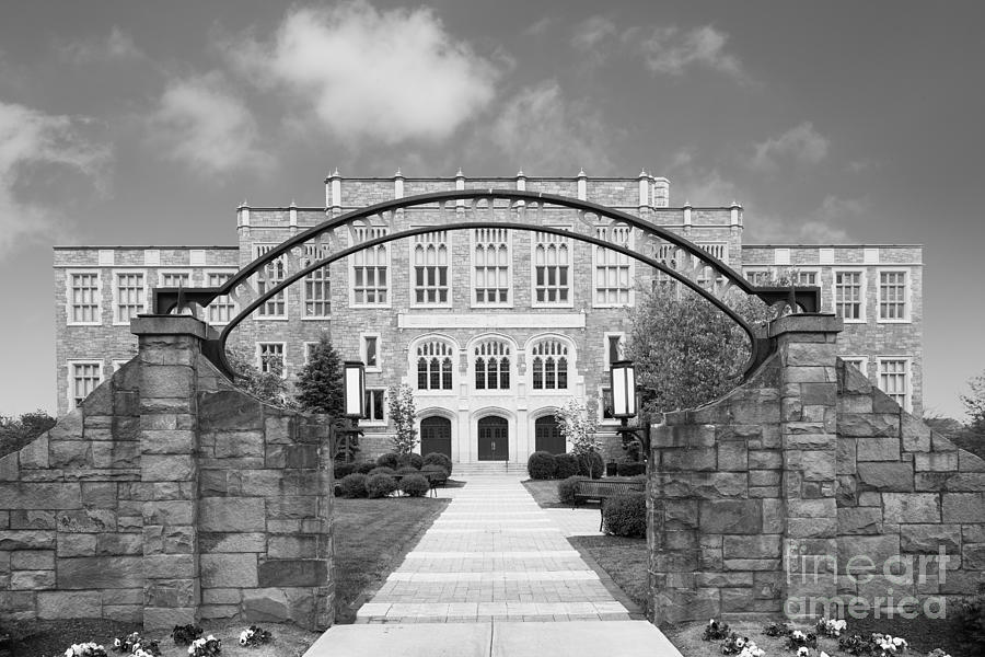 Albany Photograph - Albany Law School Gate by University Icons