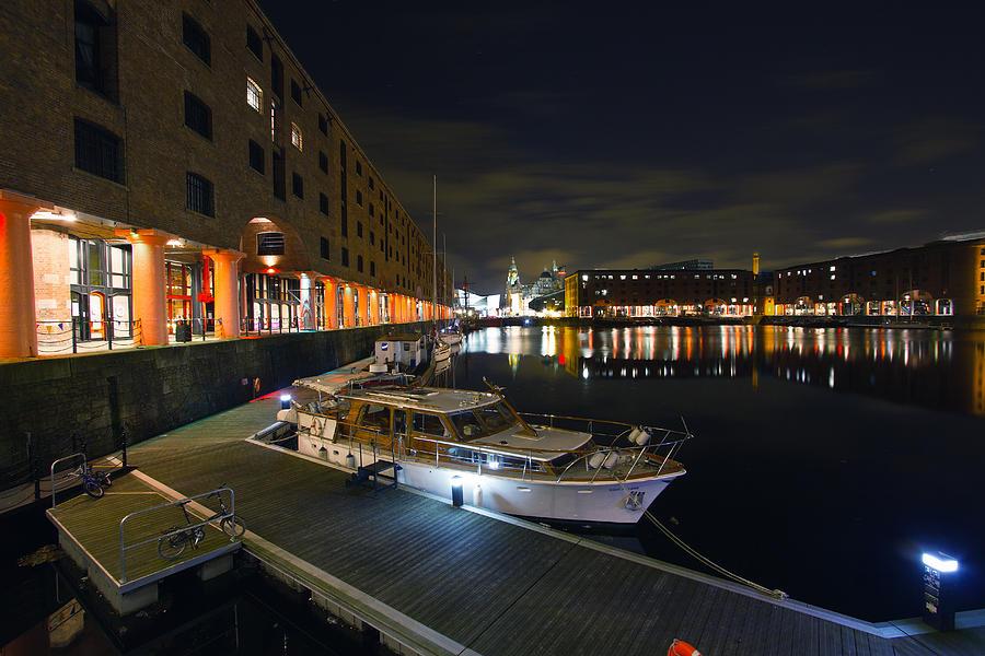 Liverpool Photograph - Albert Dock Liverpool by Wayne Molyneux