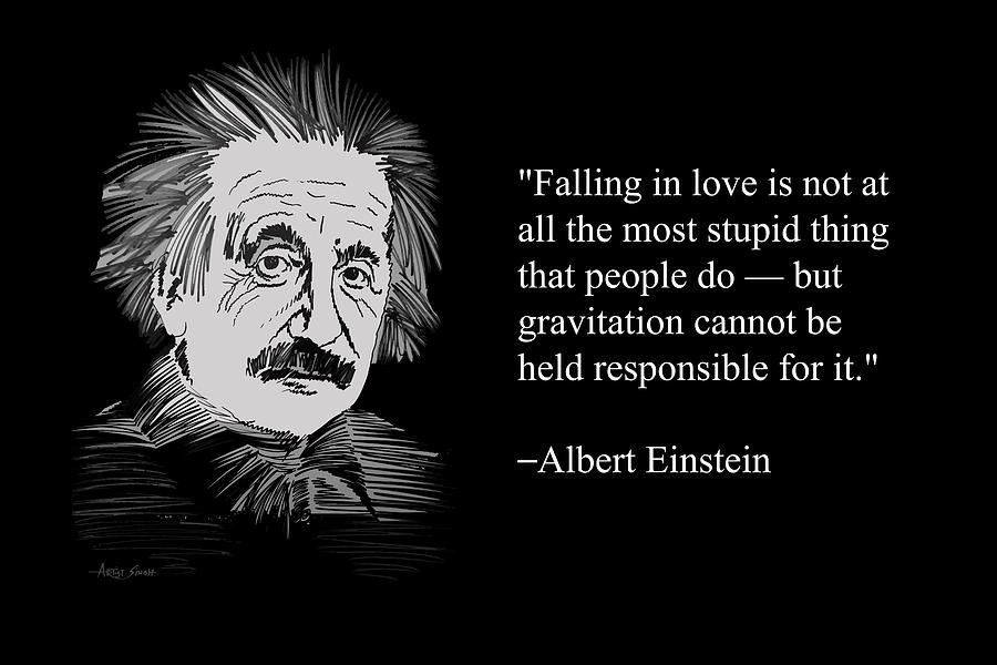 Albert Einstein Quotes 16 Painting By Artguru Official
