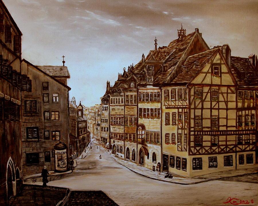 Albrecht Durer Painting - Albrecht Durers Home by Kenneth LePoidevin
