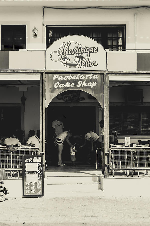 Street Photograph - Albufeira Street Series - Martinique Velha by Marco Oliveira