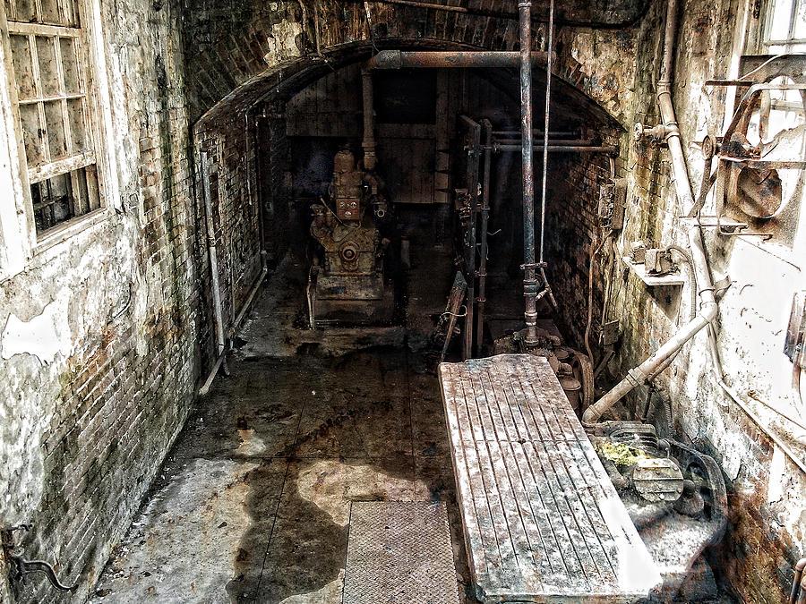 Alcatraz Photograph - Alcatraz Island Morgue by Daniel Hagerman