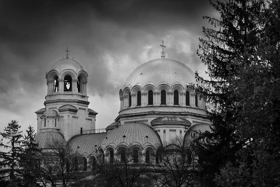 Sofia Photograph - Aleksander Nevski  by Svetoslav Sokolov