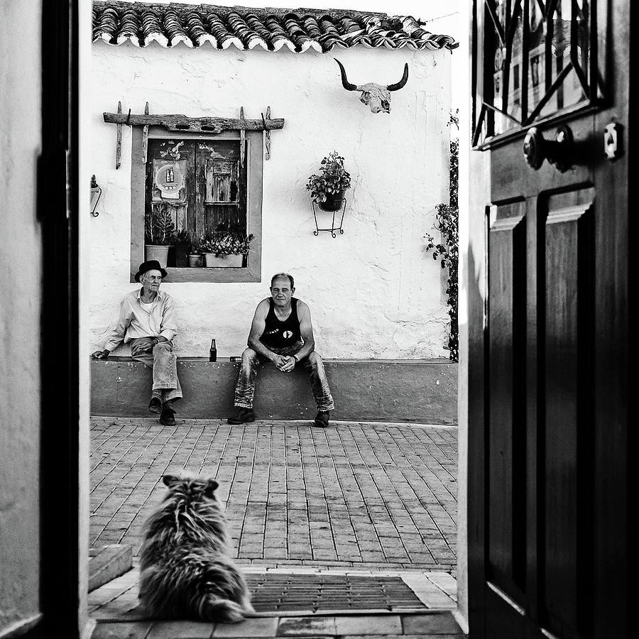 Street Photograph - Alentejo Stories by Josefina Melo