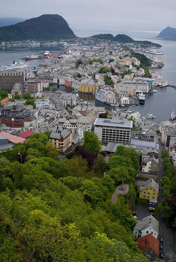 Alesund Photograph - Alesund Norway by Benjamin Reed