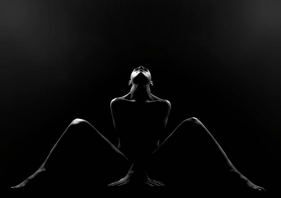 Fine Art Nude Photograph - Alexa by Jozef Kiss