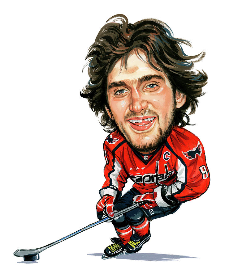 Alexander Ovechkin Painting