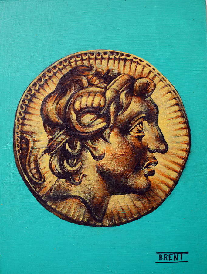 Alexander The Great Painting - Alexander The Great by Brent Andrew Doty