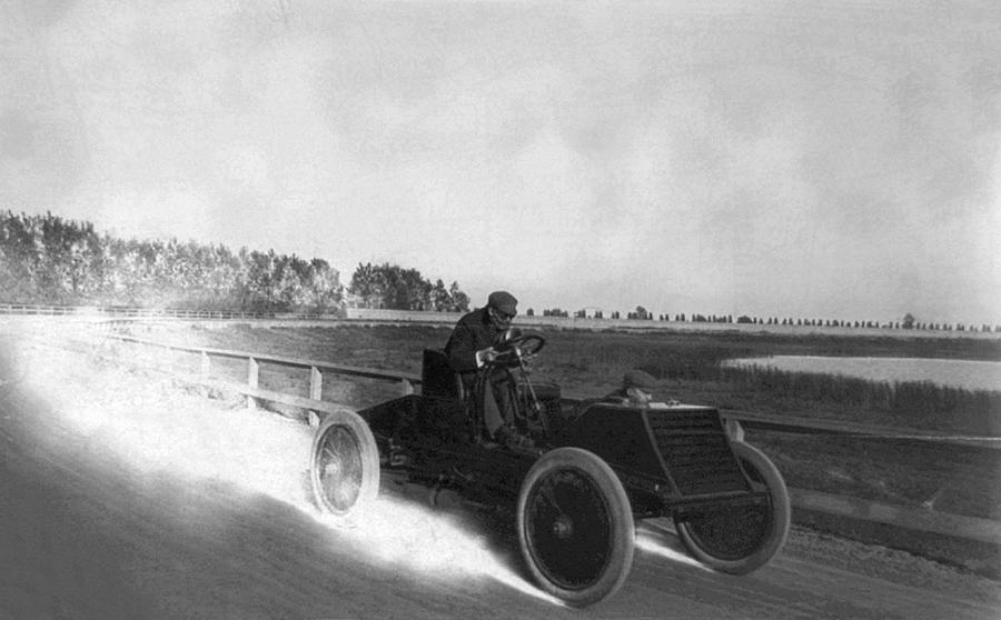 1901 Photograph - Alexander Winton (1860-1932) by Granger