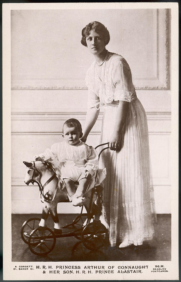 Connaught Photograph - Alexandra Duchess Of Connaught Wife by Mary Evans Picture Library