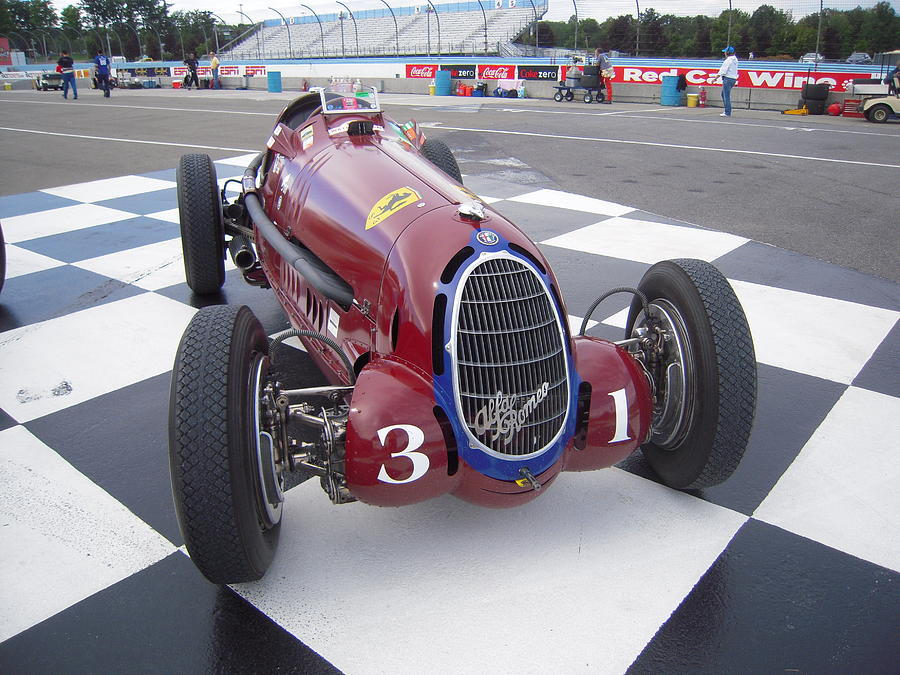 alfa romeo 1935 grand prix race car photograph by don struke. Black Bedroom Furniture Sets. Home Design Ideas