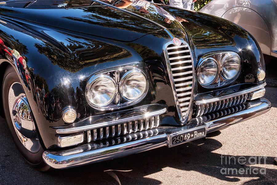 Alfa Romeo Photograph - Alfa Romeo 6c 2500 Ss Pininfarina Coupe by Milica Ljevaja Stojanovic