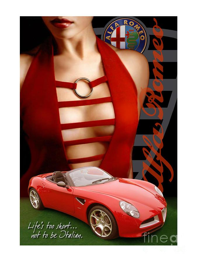 Alfa Romeo Dress by Rick Andreoli