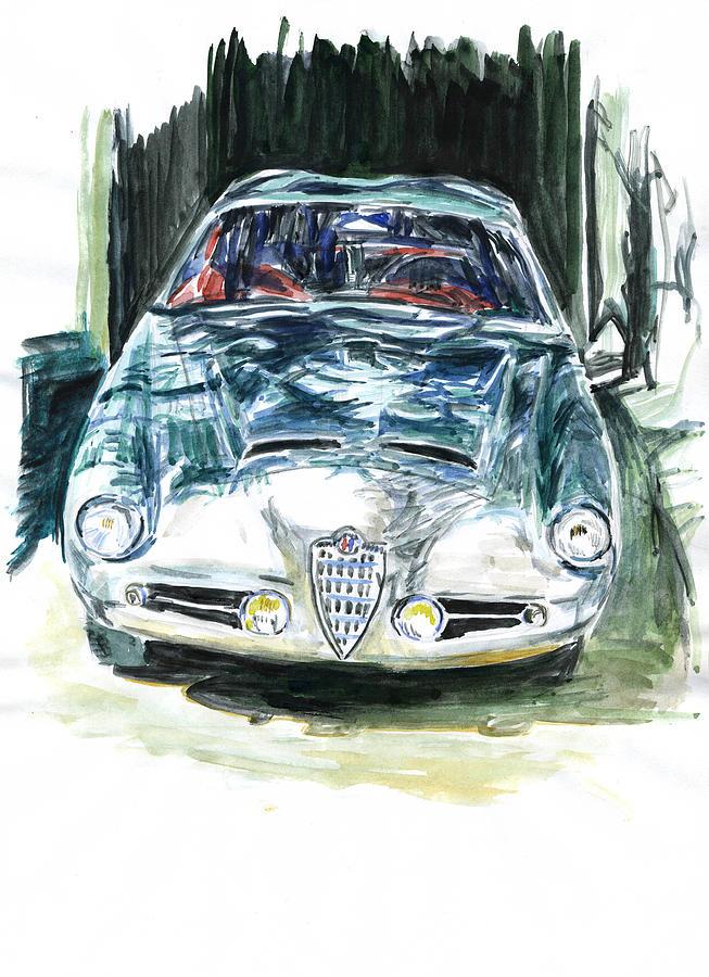 Auto Painting - Alfa Romeo by Ildus Galimzyanov