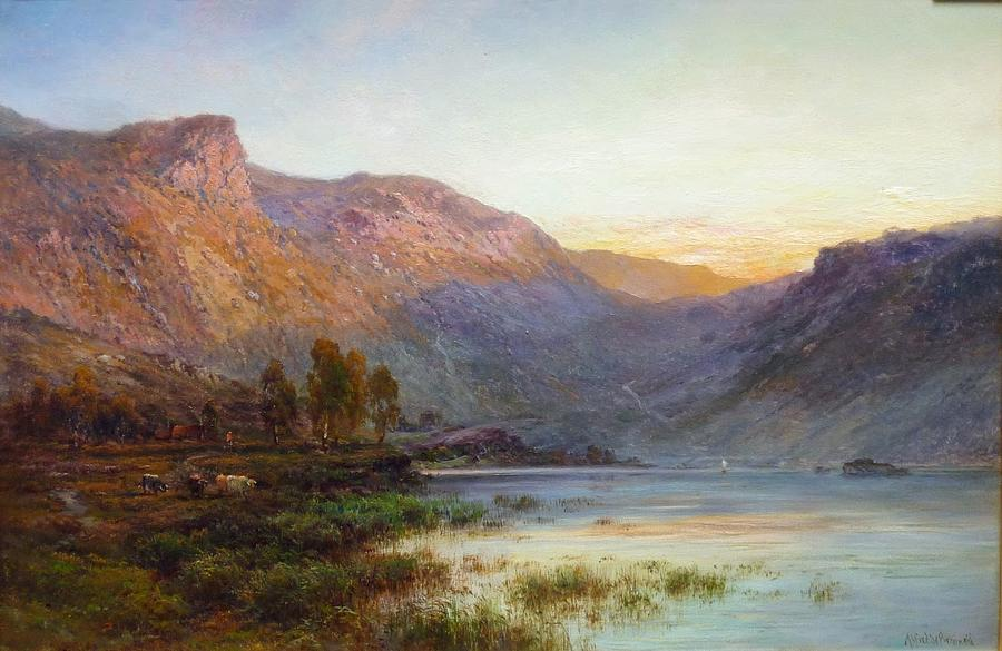 The Eagle Rock Loch Lomond Painting