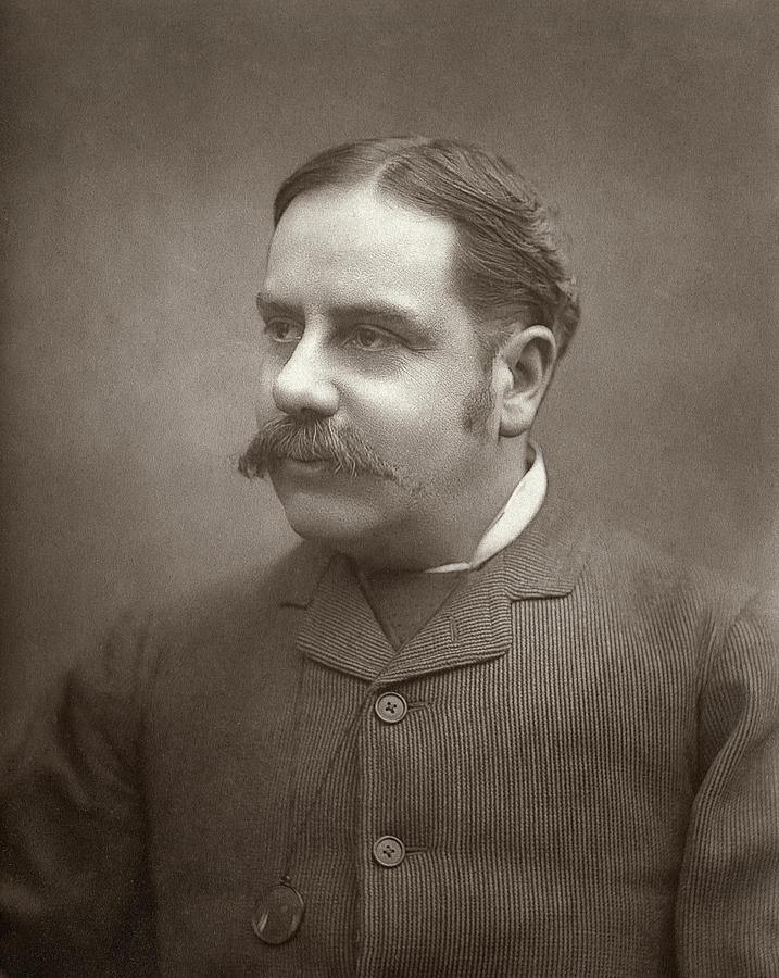1886 Photograph - Alfred E by Granger