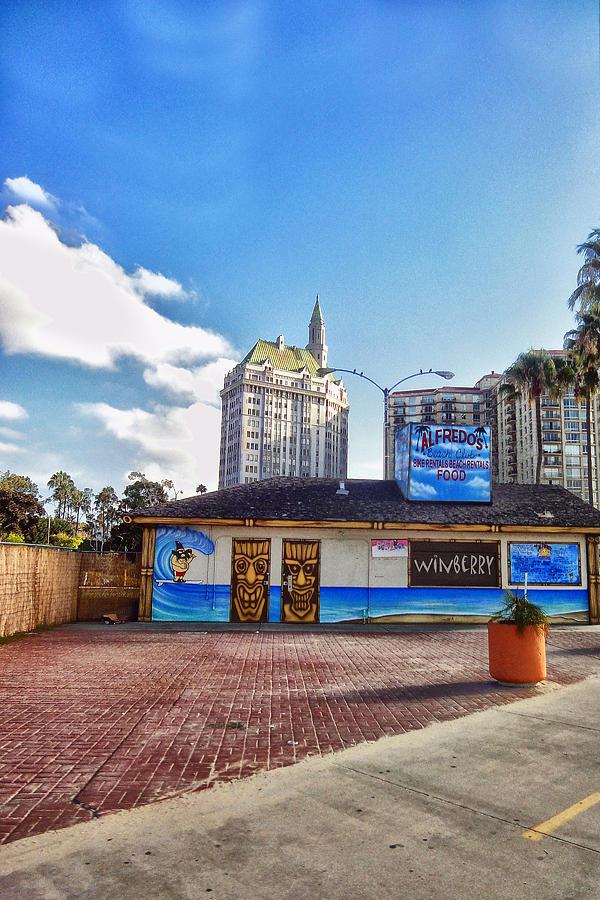 Long Beach Digital Art - Alfredos 2 by Bob Winberry