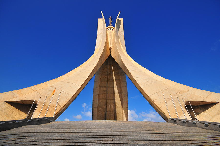 Algiers Photograph - Algiers Martyrs Monument by Miguel Torres