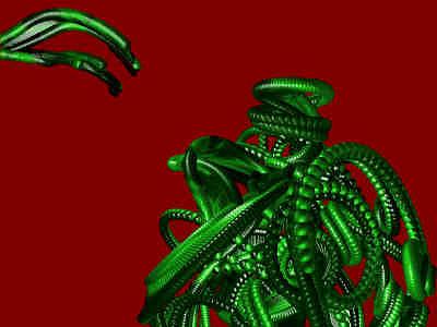 Postmodern Digital Art - Algorhitmic Abstraction B09 by Teo Spiller