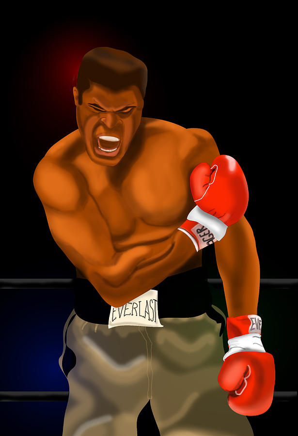 Ali Knockout by Terry Boykin