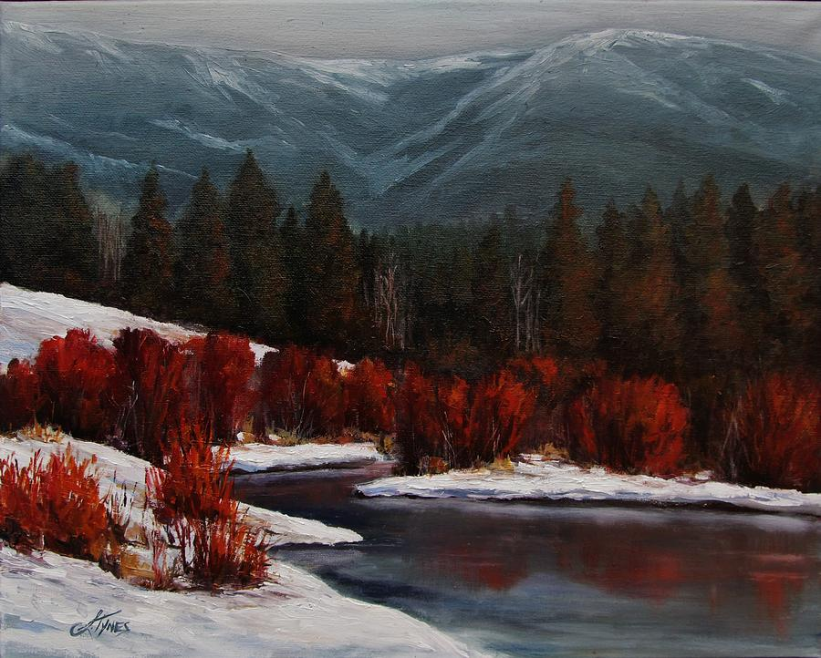 Landscape Painting - Alice Creek by Suzanne Tynes