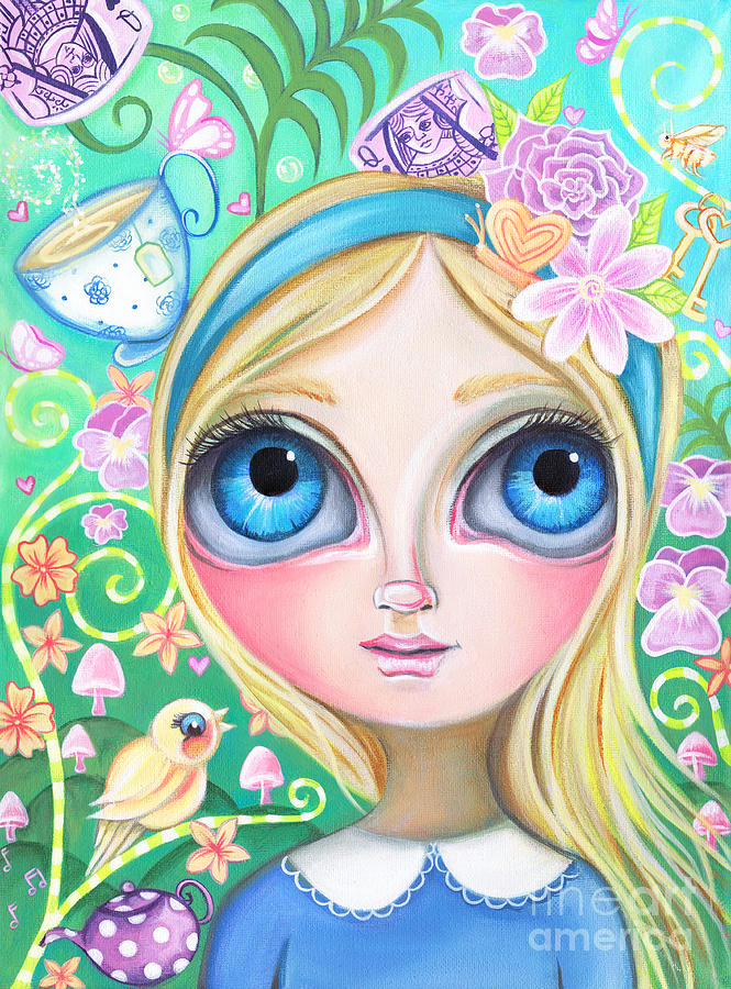 Alice in Pastel Land by Jaz Higgins