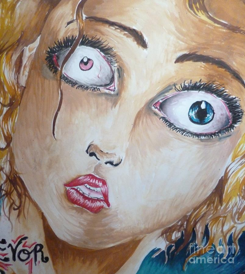 Alice Painting - Alice In Wonderland by Isobelle Rothery-Smith