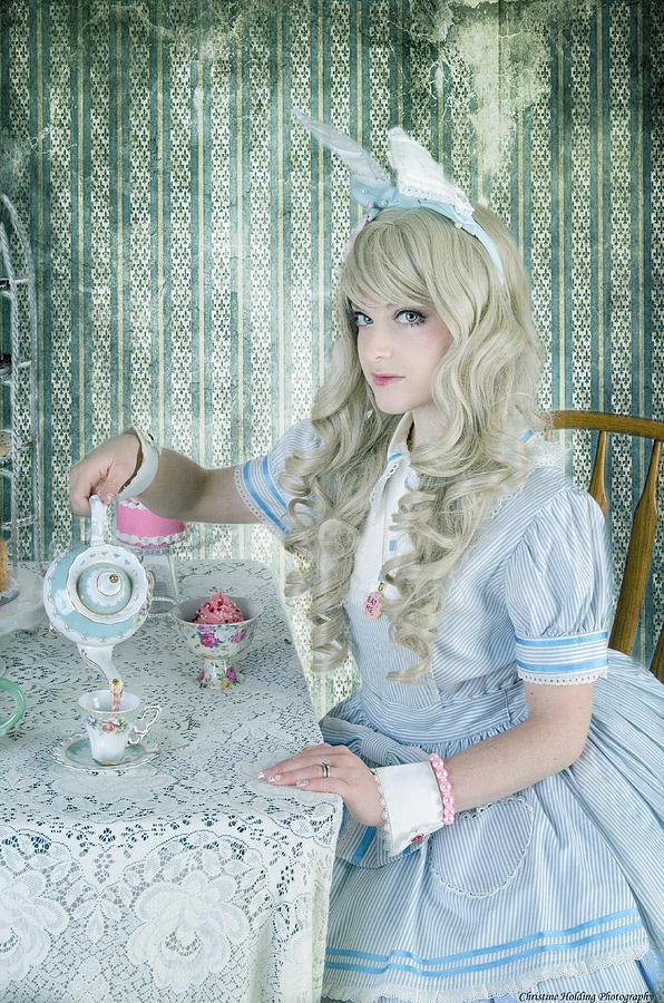 Alice In Wonderland Photograph - Alice Lolita by Christine Holding