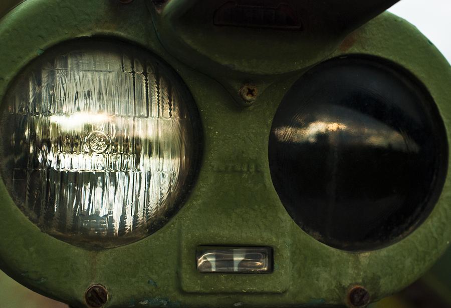 M60 Patton Tank Photograph - Alien Eyes by Christi Kraft
