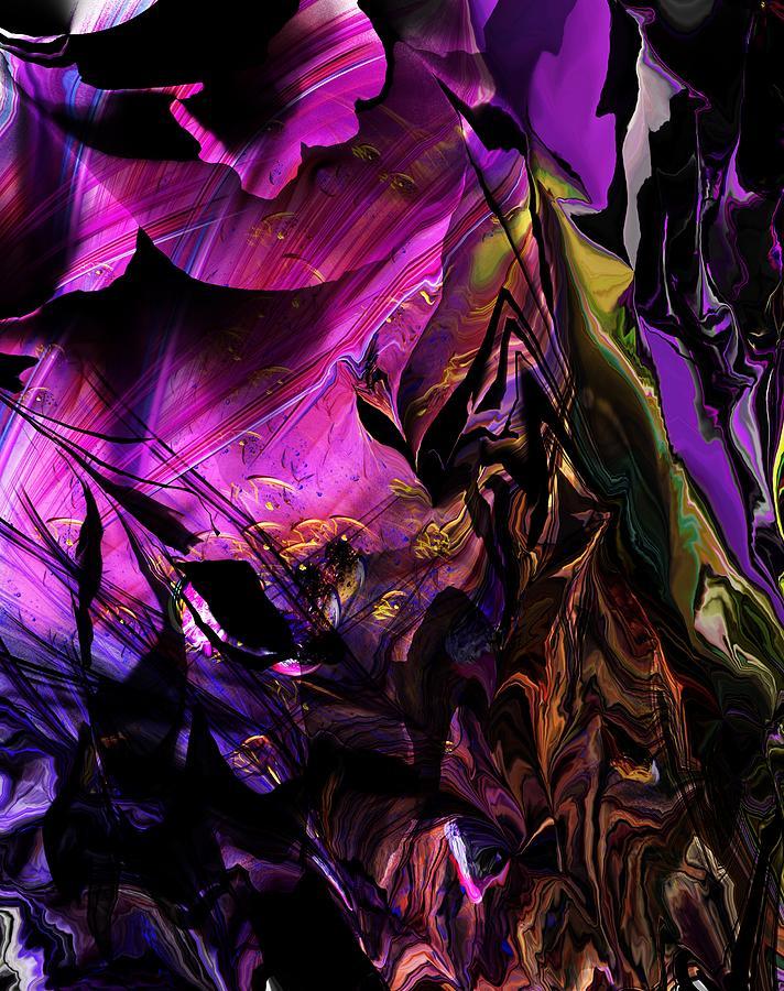 Alien Floral Fantasy Digital Art