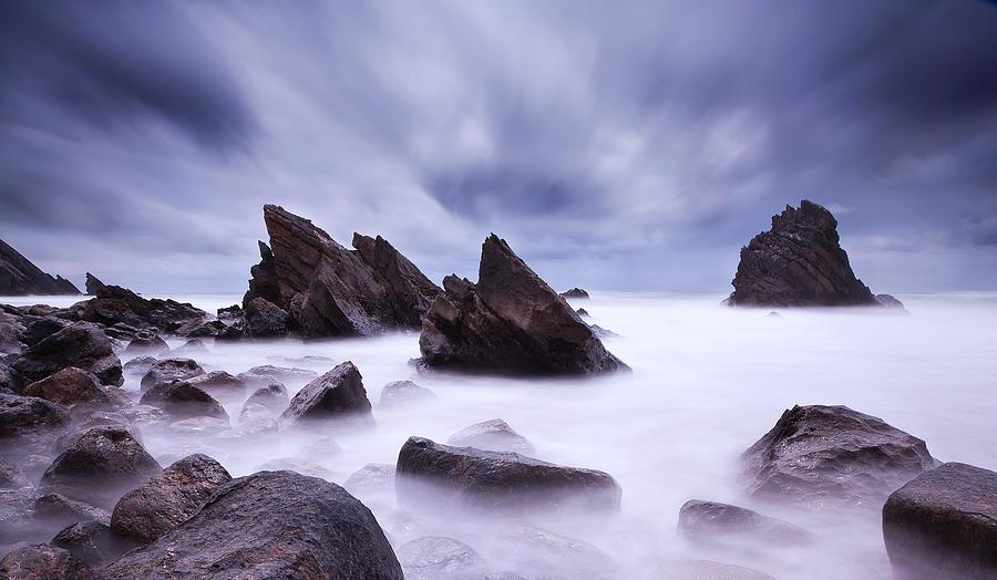 Waterscape Photograph - Alien Land by Jorge Maia