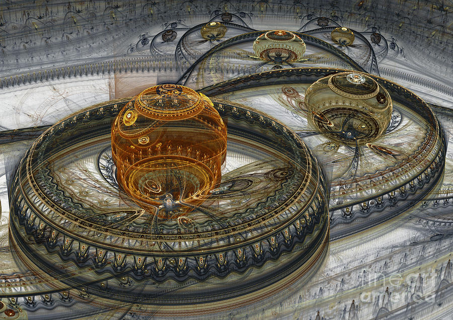 Alien Landscape II Digital Art