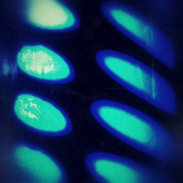 Blue Photograph - Alien Light by CML Brown